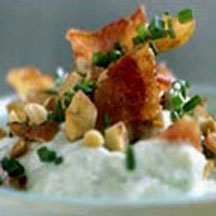 Bacon-Almond Cheese Spread.