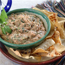 Bean and Spinach Dip