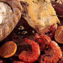 Buffalo Shrimp with Gorgonzola Dip Recipe - CooksRecipes.com