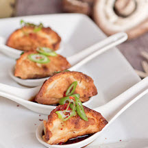 Chicken, Mushroom and Tofu Dumplings