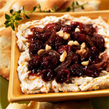 Cranberry-Caramelized Onion Cheese Spread