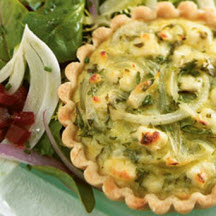 Feta and Vidalia Onion Tart