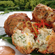 Florida Blue Crab Fritters