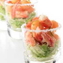King Crab and Cantaloupe Margarita
