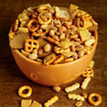Parmesan-Toasted Snack Mix