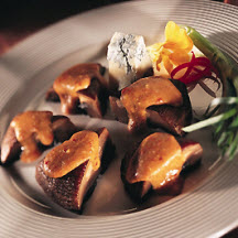 Portobello Mushrooms with Italian-Style Gorgonzola