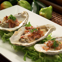 Spicy Jalapeño Cheese and Bacon Oysters