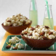 Sweet and Smoky Almond Popcorn