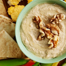 Toasty Walnut Hummus