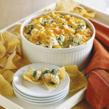 Turkey Spinach and Artichoke Dip