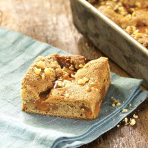 Caramel Blondie Bars