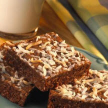 Cocoa Coconut Brownies