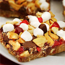 Cranberry Cashew Cookie Bars