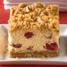 Cranberry Pumpkin Crumble Cheesecake Squares Recipe at CooksRecipes ...