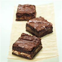 Fantabulous Wonka-Stuffed Brownies