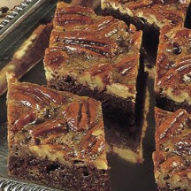 Fudgey Chocolate Pecan Bars