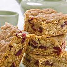 Oatmeal, Walnut, Cranberry Bars