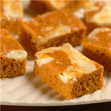 Pumpkin & Sweet Potato Bar Recipes