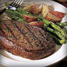 Balsamic Marinated Steak Asparagus