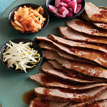 Beef Brisket with Asian Chili Sauce