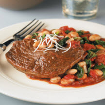 Braised Beef with White Beans