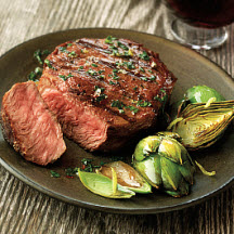 Chimichurri-Marinated Beef Steaks