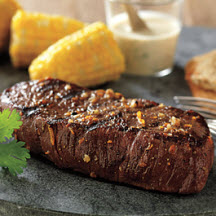 Citrus Steaks with Spicy Orange Sauce