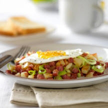 Corned Beef, Potato and Pepper Hash