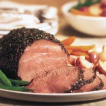 Espresso-Crusted Beef Roast