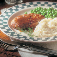 Salisbury Steak with Dilled Mashed Potatoes