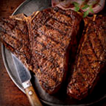 Spicy Grilled T-Bones