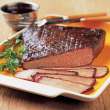 Barbecue-Braised Bourbon Beef With Mustard Glaze Recipes — Dishmaps