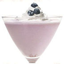 Blueberry Pie Mocktail