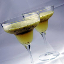 Green and Gold Kiwifruit Daiquiri