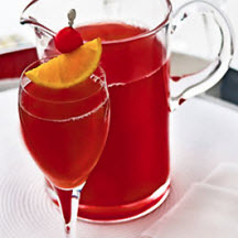 Sparkling Red Cherry Punch