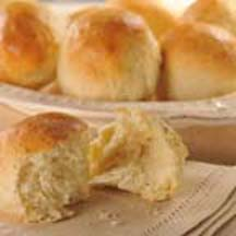 Bread Machine Garlic Dinner Rolls