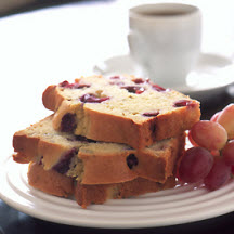Grape & Cranberry Tea Bread