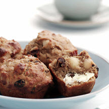 Macadamia and Date Muffins