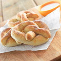 Soft Cinnamon and Sugar Pretzels
