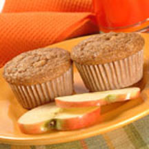 Sugared Apple Tea Muffins