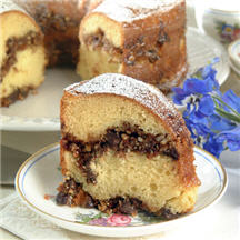 Almond-Chocolate Coffeecake