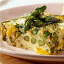 Image of Asparagus Frittata, Cooksrecipes