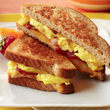 Bacon and Egg Breakfast Grilled Cheese Recipe at ...