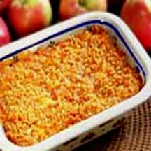 Baked Apple and Cheese Casserole