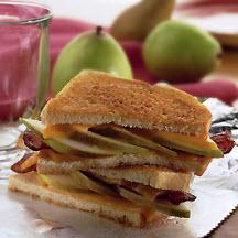 breakfast pear and bacon grilled sandwich caesar steak sandwich ...