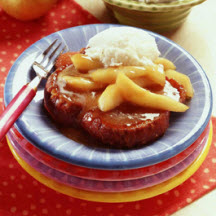 Caramelized French Toast with Vanilla Pears