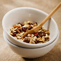 Crunchy Cranberry Raisinets Granola