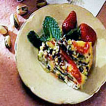 Frittata with California Pistachios