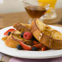 Golden Sunrise French Toast