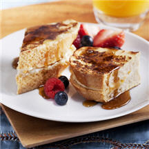 Honey Vanilla Crème Stuffed French Toast